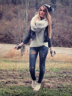 #fall outfit minus the gloves