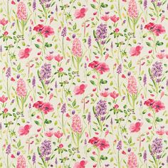 Style Library - The Premier Destination for Stylish and Quality British Design | Products | Spring Flowers (DOPS222397) | Options 11 Fabrics