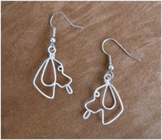 Whimsical Animal Wire Work Jewelry by Chatnoir77 ~ The Beading Gem's Journal