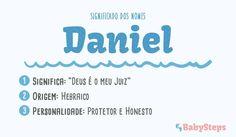 #Daniel #babysteps #nomes #menino #bebé #criança