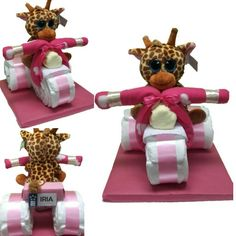 Regalos originales para bebes. Tartas de pañales (motos, coches, ramos, carritos), cestas y canastillas, articulos originales, ideas para baby shower y mucho mas. http://elcarruseldelosbebes.com
