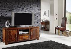 Masiv24 - Sheesham TV stolek, masivní palisandrové