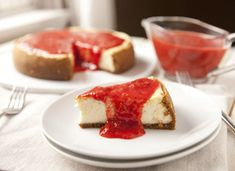 Cascadian Farm Strawberry Glazed Cheesecake #12daysofpie