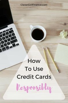 When it comes to using credit responsibly, before blaming the credit card companies, it's a good idea to take a look at your behavior with credit cards first because for the most part, irresponsible use of credit cards is what really gets people in trouble.