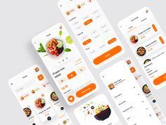 Eatko Food delivery UI kit — UI Kits on UI8 Ios, Web Design, Delivery App, Order Food, Ui Kit, App Ui, Mobile Application, Design Development, Your Cards