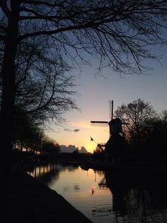 Weesp Netherlands windmill het haantje