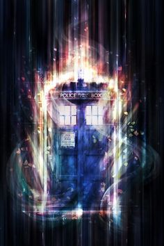 TARDIS. I love this beautiful picture