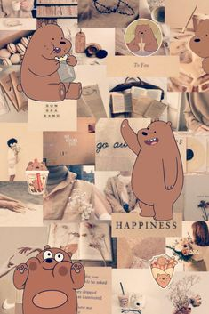 We Bare Bears Grizzly Wallpaper