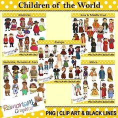 children of the world paper dolls - Google Search