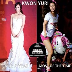 When you see her being all gorgeous & normal, savour the moment as much as you can cause you never know when you'll be able to see it again. #snsd #girlsgeneration #soshi #sone #kpop #meme #snsdmeme #funny #cute #girls #yuri #kwonyuri #kkabyul #expectations #reality