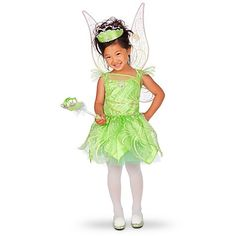 Toddler Tinkerbell costume dress  sc 1 st  Pinterest : toddler disney princess costume  - Germanpascual.Com