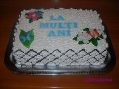 Tort aniversar. Desserts, Food, Tailgate Desserts, Deserts, Essen, Postres, Meals, Dessert, Yemek