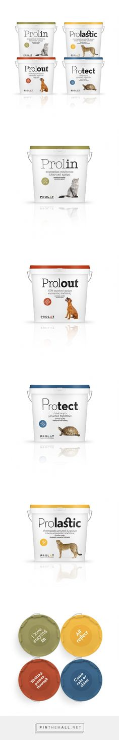 Prolat Paints - Packaging of the World - Creative Package Design Gallery - http://www.packagingoftheworld.com/2016/04/prolat-paints.html