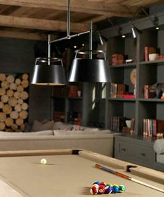 This is the light for the pool table Carlyn Double | UEC