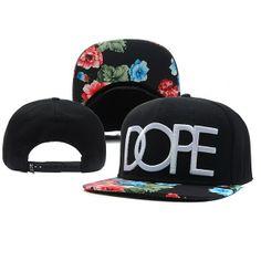 DOPE Black colored flower pattern snapback new collection 2014 #flower #snapback #snapbacks # cap #caps #hat #hats http://capheaven.net/shop/dope/dope-flower-style-black-snapback/