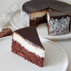 GÂTEAU cHOCO-COCO - Mes Délicieuses Créations Sweet Desserts, Sweet Recipes, Delicious Desserts, Cake Recipes, Dessert Recipes, Chocolate Desserts, Cupcake Cakes, Bakery, Sweet Treats
