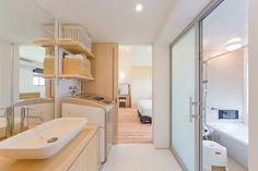 洗面室と浴室