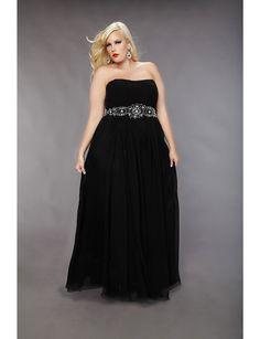 Bestselling Plus Size Chiffon Formal Dress   Sonsi