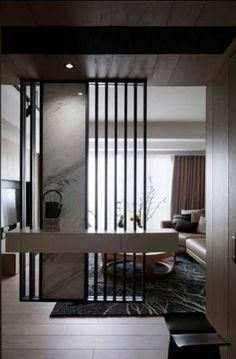 cool 42 stunning modern partition design ideas for living room more at hoomdsgn cool design hoomdsgn ideas living modern partition room Wall Partition Design, Living Room Partition, Living Room Divider, Divider Design, Divider Ideas, Partition Ideas, Partition Walls, Wall Design, Living Room Modern