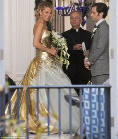 Vestido de noiva da Serena Van Der Woodsen em Gossip Girl