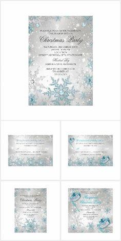 Blue Silver Crystal Snowflake Christmas