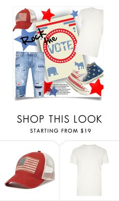 """""""Rock the Vote in Style (Men's Fashion) - Top Fashion Set, 11/7/16"""" by leslee-dawn ❤ liked on Polyvore featuring Denim & Supply by Ralph Lauren, River Island, Armani Jeans, men's fashion and menswear"""