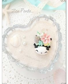 Zen Panda polymer clay Polymer Clay Kawaii, Panda, Artist, Inspiration, Instagram, Biblical Inspiration, Artists, Pandas, Inspirational