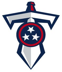 Tennessee Titans Alternate Logo on Chris Creamer's Sports Logos Page - SportsLogos. A virtual museum of sports logos, uniforms and historical items. Tennessee Titans Football, Nfl Football, Gaming Logo, Tn Titans, Titan Logo, Nfl Memes, Nfl Logo, National Football League, Houston