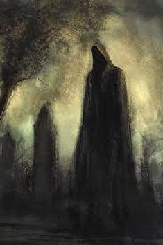 Shadows In The Dark (Posts tagged grim reaper) Arte Horror, Horror Art, Art Visionnaire, Creepy Art, Creepy Paintings, Dark Art Paintings, Wow Art, Dark Fantasy Art, Fantasy Series