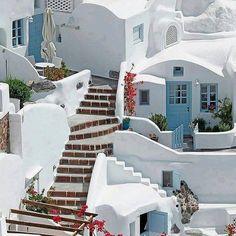 Oia Santorini Greece Photography by Santorini House, Santorini Island Greece, Oia Greece, Greece Islands, Athens Greece, Casas The Sims 4, Greece Photography, Greek House, Greek Town