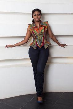 Stylista GH Wild Collection ~African fashion, Ankara, kitenge, African women dresses, African prints, African men's fashion, Nigerian style, Ghanaian fashion ~DKK