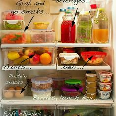Helping to make your fridge a little healthier.
