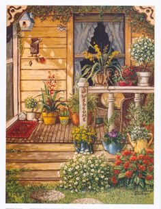 Janet Kruskamp [Now here's a place to live happily forever.]