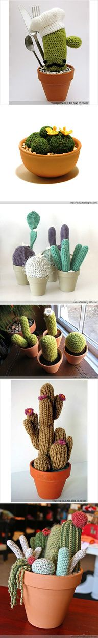 #Crochet #Cactus plants you can't kill