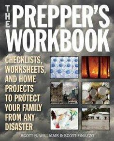 The prepper's  workbook - emergency preparedness #checklists.