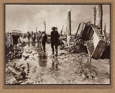 British Army Soldiers Battle Ypres 1917 World War 1 Inch Reprint Photo R World War One, First World, Battle Of Ypres, Australian Photography, Civil War Photos, Ww1 Photos, Photographs, Flanders Field, Army Soldier