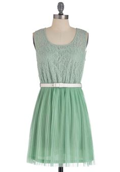Peppermint Frosting Dress - this is a really sweet dress with a nice spring color