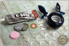 bottle caps How to Make Bottle Cap Crafts and Jewelry Photos and DIY Bottle Top Crafts, Bottle Cap Projects, Diy Bottle, Beer Bottle, Bottle Cap Earrings, Bottle Cap Jewelry, Bottle Cap Art, Plastic Bottle Caps, Bottle Cap Magnets