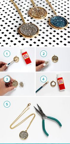 DIY Jewelry Tutorials For Beginners