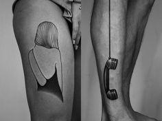 """Τα """"Ιδιοφυή"""" Τατουάζ του Ilya Brezinski"""
