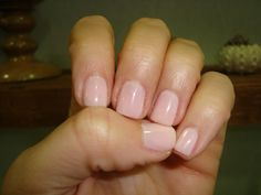 {blending beautiful} » Wedding Wednesday: The Perfect Gel Polish For Brides! Shellac Romantique