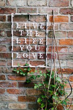 Love details #livethelifeyoulove #love #weddingdetails #detail #wedding #themed #chic #garden #secret #venue #lincolnshire #creative