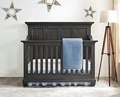 We're pretty smitten over the Nashville Knox 4-in-1 crib from @BertiniBaby - we love its transitional style and safe, quality design. Enter to win it! #PNpartner