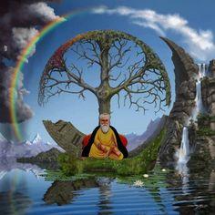 Guru Nanak Photo, Guru Nanak Ji, Nanak Dev Ji, Guru Nanak Wallpaper, Religious Art, Art Projects, Spirituality, Gallery, Painting