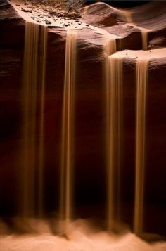 Sand fall, Arizona