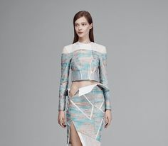 The Mikhael Kale Spring Collection is Full of Sculptural Silhouettes #premium #fashion trendhunter.com