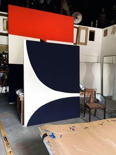 the studio w/ photographer #GeorgeHixon and painter #JaylonIsraelHicks