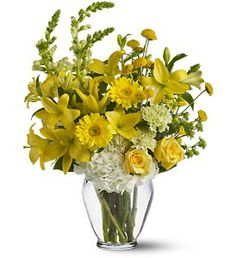 Beautiful Yellows for a Beautiful Sunny Day.