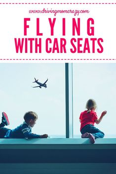 Travel tips for flying with kids and what to do with their car seats. Traveling with kids can be stressful, but there are ways to ensure things go as smoothly as possible! Learn about airline travel tips, travel with kids, and the best ways to get throug Traveling With Baby, Travel With Kids, Family Travel, Parenting Toddlers, Parenting Hacks, Travel Car Seat, Best Car Seats, Flying With Kids, Airline Travel