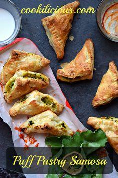 Puff Pastry Samosa -